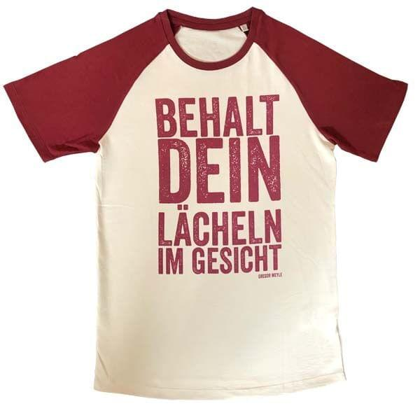 Baseballshirt (Men) - bordeauxrot